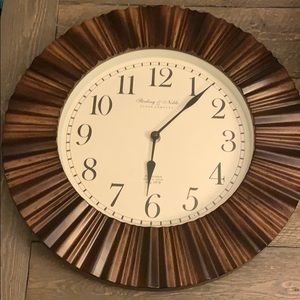 Sterling and Noble Mid Century Modern Wall Clock